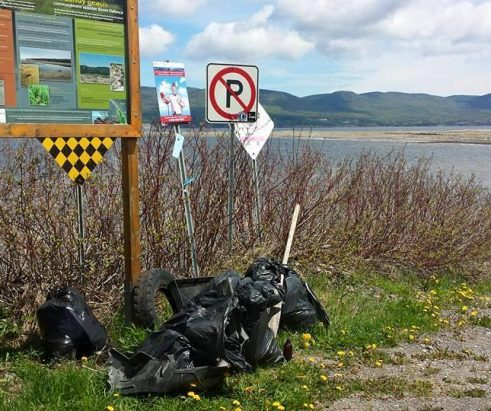 Opération grand nettoyage à Gaspé!